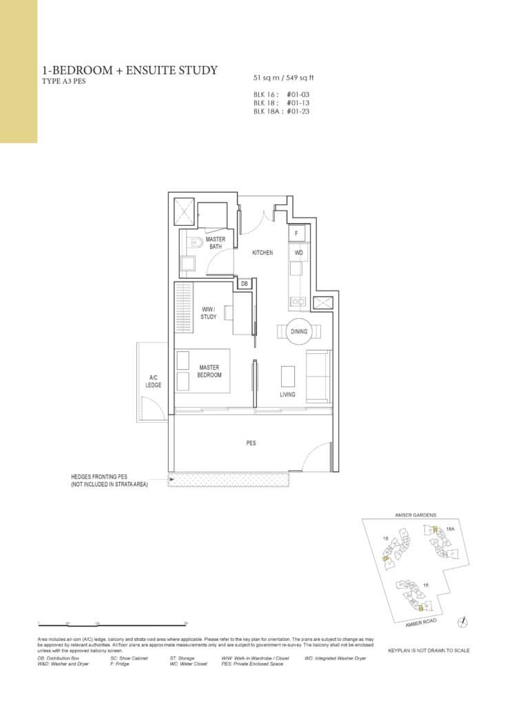 amber_park_floor_plan_1_bedroom_ensuite_study_type_a3pes