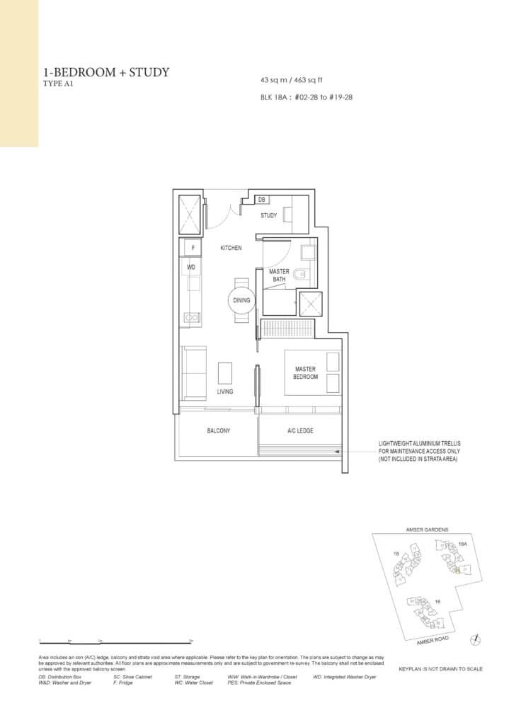 amber_park_floor_plan_1_bedroom+study_type_a1