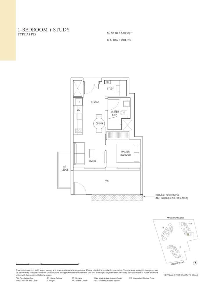 amber_park_floor_plan_1_bedroom+study_type_a1pes